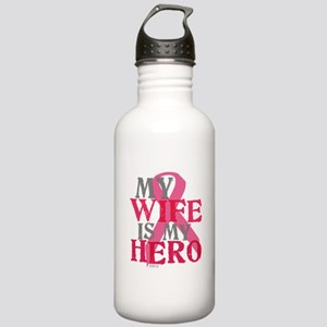My wife is my hero Stainless Water Bottle 1.0L