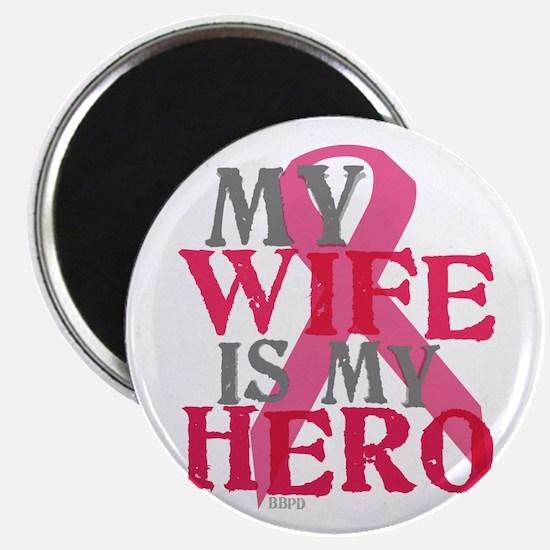 My wife is my hero Magnet