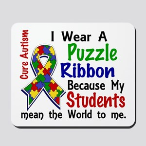 Means World To Me 4 Autism Mousepad