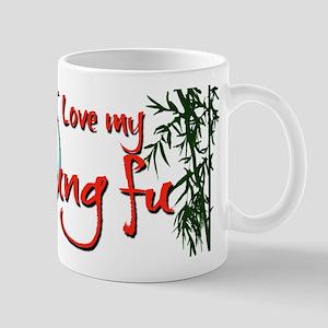 I Love my Kung Fu Mug