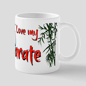 I Love my Karate! Mug