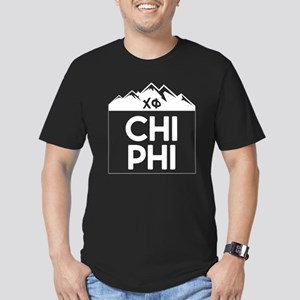 Chi Phi Mountains Men's Fitted T-Shirt (dark)