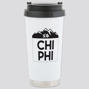 Chi Phi Mountains 16 oz Stainless Steel Travel Mug