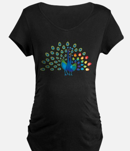 peacockkidsK Maternity T-Shirt