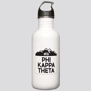 Phi Kappa Theta Mountains Water Bottle