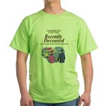 Handbook for the Recently Deceased Green T-Shirt