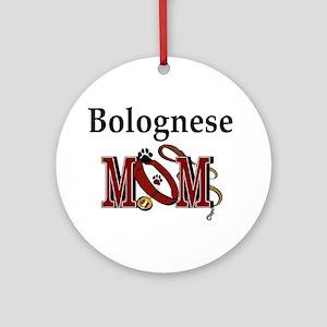 Bolognese Mom Ornament (Round)