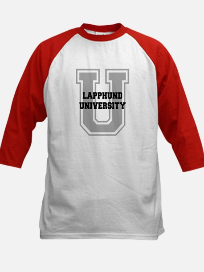 Lapphund UNIVERSITY Kids Baseball Jersey
