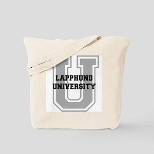 Lapphund UNIVERSITY Tote Bag
