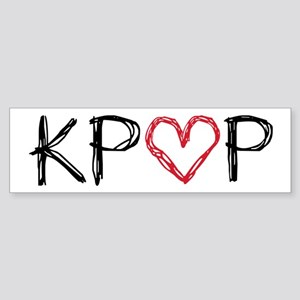 KPOP Love Scribble Sticker (Bumper)