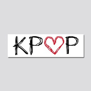KPOP Love Scribble Car Magnet 10 x 3