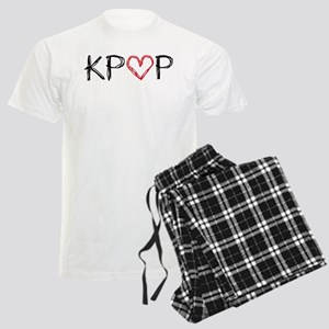 KPOP Love Scribble Men's Light Pajamas
