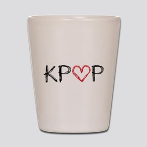 KPOP Love Scribble Shot Glass