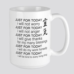 Just For Today Large Mug