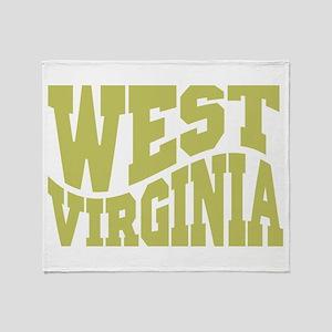 West Virginia Throw Blanket