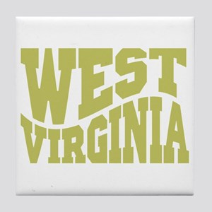 West Virginia Tile Coaster