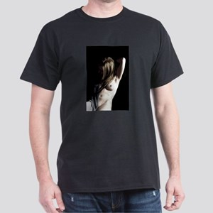 A Trip to the Swan Nebula Black T-Shirt