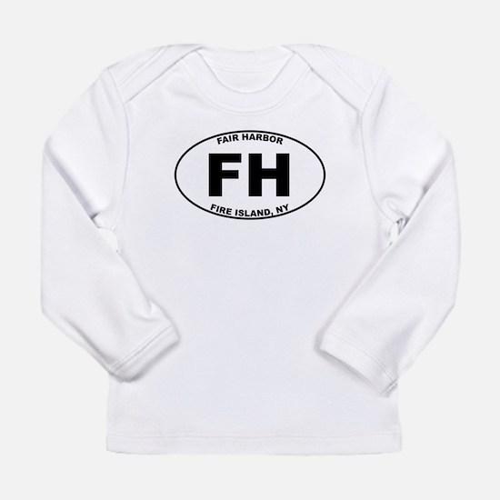 Fair Harbor Fire Island Long Sleeve Infant T-Shirt