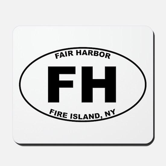 Fair Harbor Fire Island Mousepad
