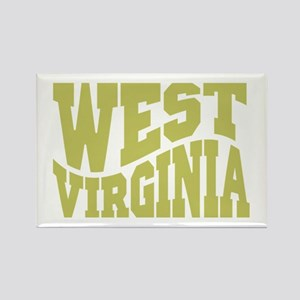 West Virginia Rectangle Magnet
