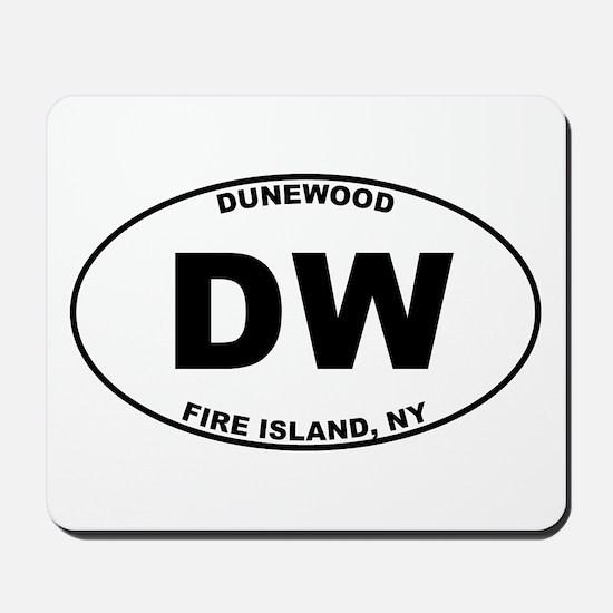 Dunewood Fire Island Mousepad