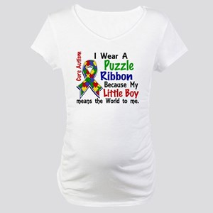 Means World To Me 4 Autism Maternity T-Shirt