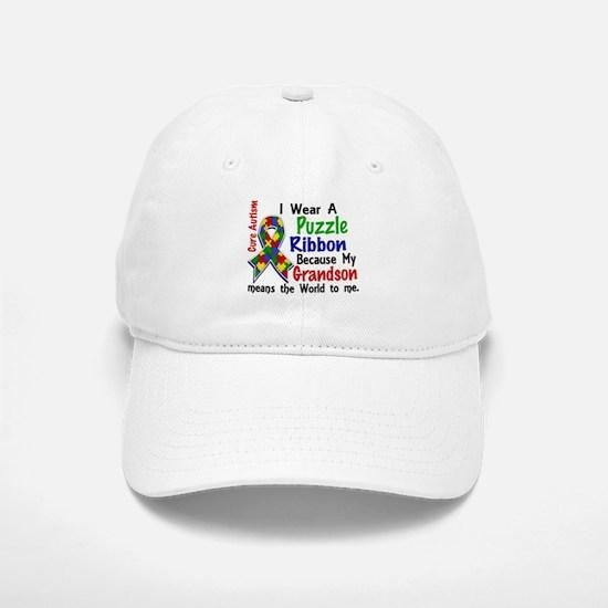 Means World To Me 4 Autism Baseball Baseball Cap