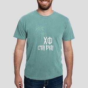 Chi Phi Palm Trees Mens Comfort Colors Shirt