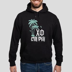 Chi Phi Palm Trees Hoodie (dark)