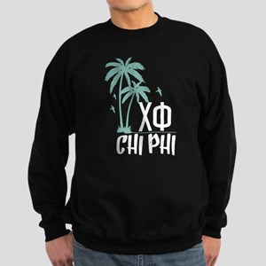 Chi Phi Palm Trees Sweatshirt (dark)