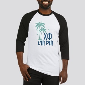 Chi Phi Palm Trees Baseball Tee