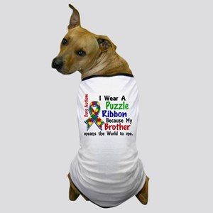 Means World To Me 4 Autism Dog T-Shirt