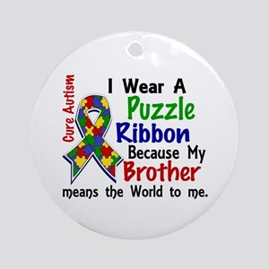 Means World To Me 4 Autism Ornament (Round)