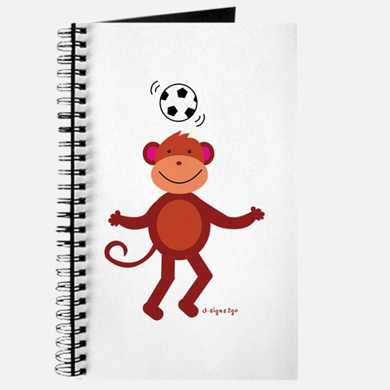 Monkey at Soccer - Head Bounce Journal