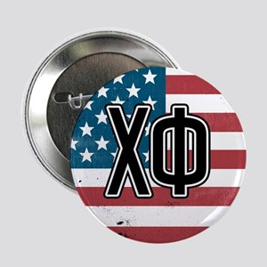 "Chi Phi Flag 2.25"" Button"
