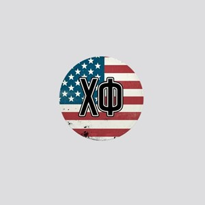Chi Phi Flag Mini Button