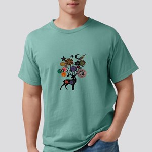 HAPPILY NATURE Mens Comfort Colors Shirt