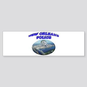 NOPD Badge in the Sky Sticker (Bumper)