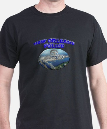 NOPD Badge in the Sky T-Shirt