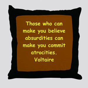 victor hugo quote Throw Pillow