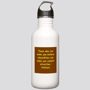 victor hugo quote Stainless Water Bottle 1.0L