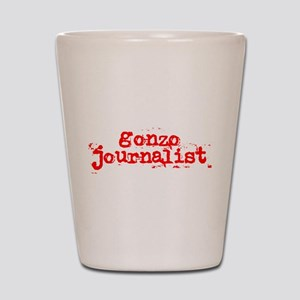 Gonzo Journalist Shot Glass