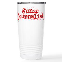 Gonzo Journalist Stainless Steel Travel Mug