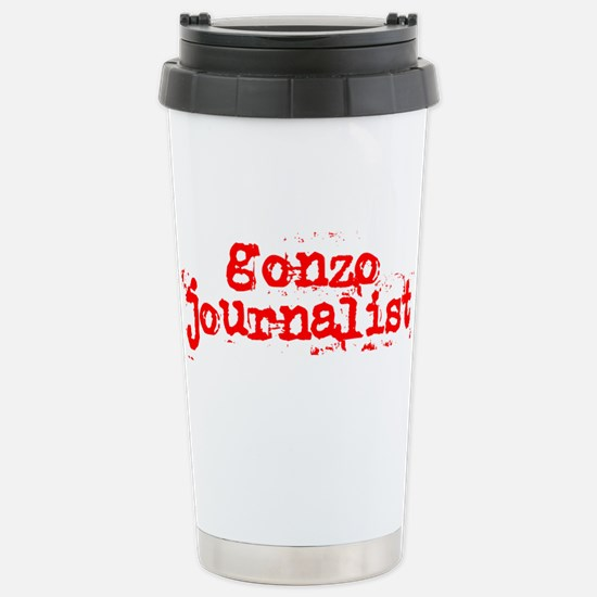 Gonzo Journalist Stainless Steel Travel Mug