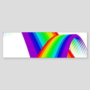 LGBTQ Pride Rainbow Bridge Bumper Sticker