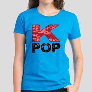 KPOP Artists Women's Dark T-Shirt
