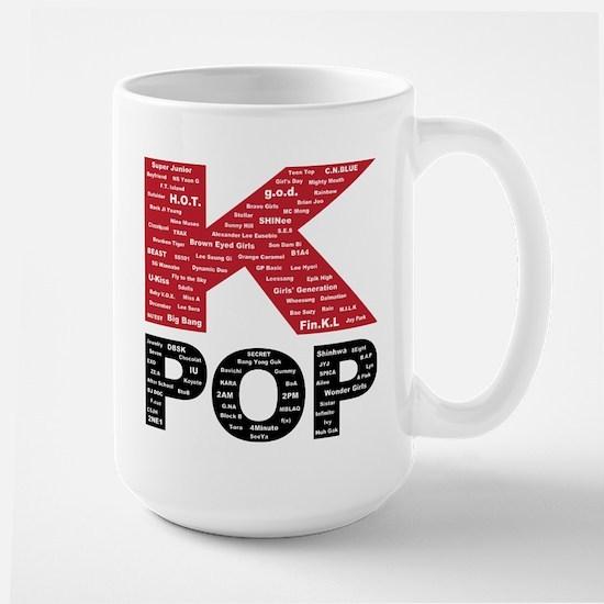 KPOP Artists Large Mug