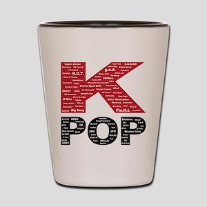 KPOP Artists Shot Glass