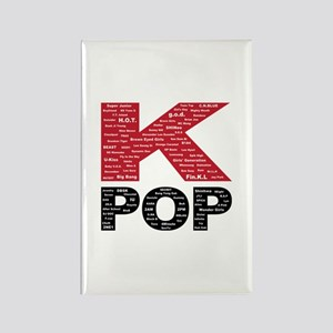 KPOP Artists Rectangle Magnet