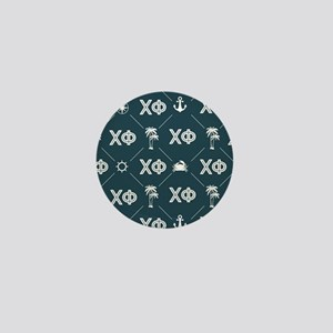 Chi Phi Pattern Mini Button